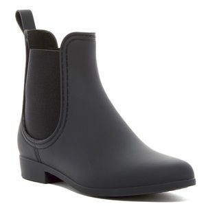 Jeffrey Campbell Forecast Chelsea Black Matte Boot